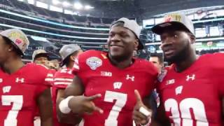 2017 Goodyear Cotton Bowl Champions The Wisconsin Badgers OnWisconsin CottonBowl