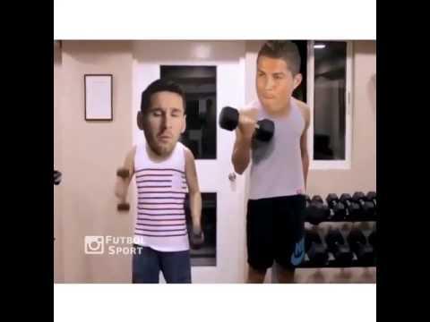 Khi Ronaldo và Messi là bạn thân