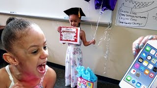 Imani Gets Surprise IPod Touch For Graduation Gift!!