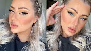 Trying The FOX EYE MAKEUP TREND *Eye Lift Without Surgery*