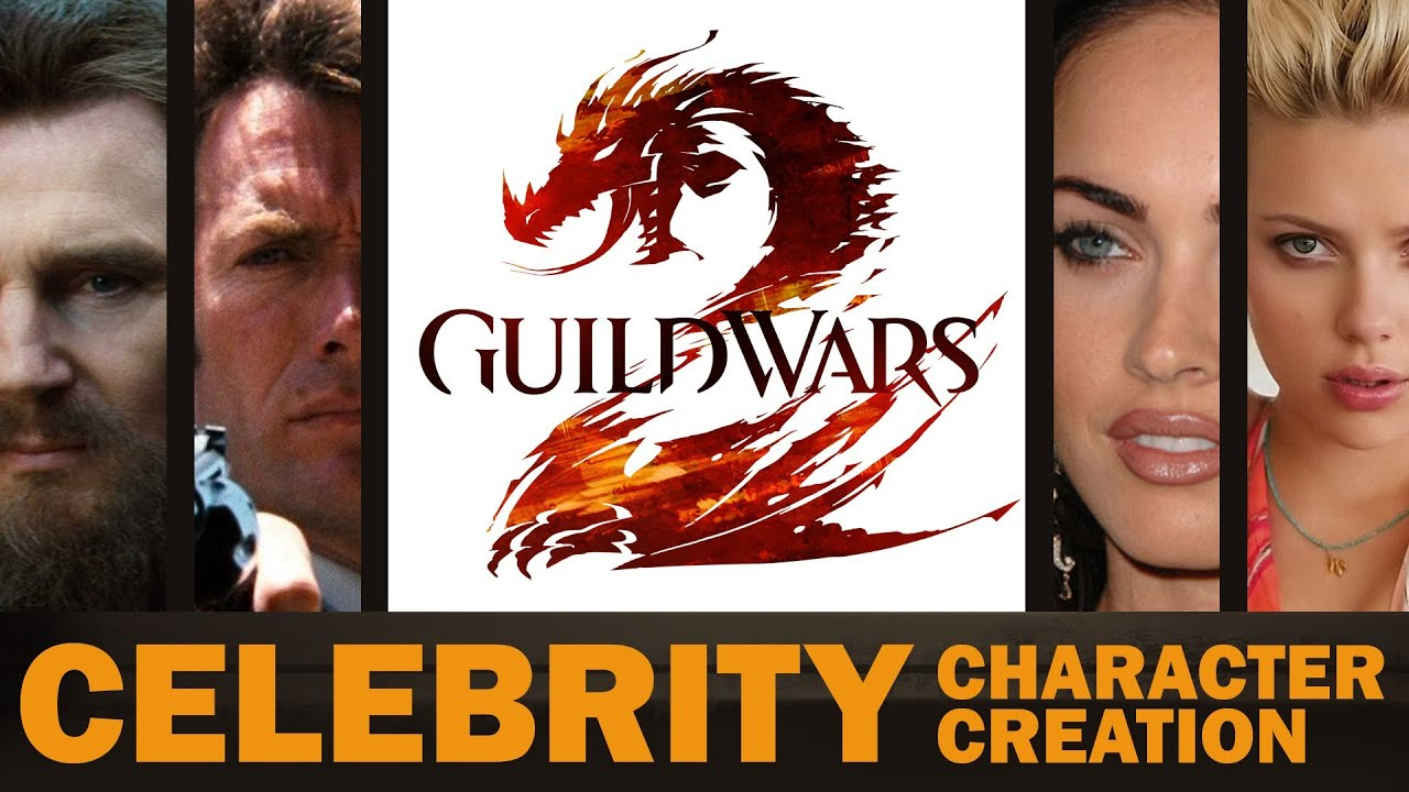 Liam Neeson And Megan Fox Are Just Two Of The Celebrities You Can Play As In Guild Wars 2