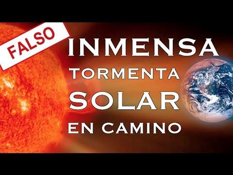 MITOS SOLARES - ¿Se acerca una tormenta solar?