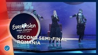Ester Peony - On A Sunday - Romania - LIVE - Second Semi-Final - Eurovision 2019