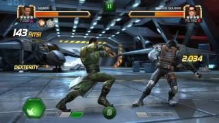 MCOC Baron Mordo First Playthrough (All specials VS Winter Soldier)
