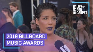 Halsey Teases Performance With BTS at BBMAs 2019 | E! Red Carpet & Award Shows