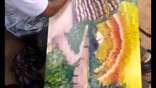 Künstler auf der Strasse