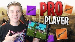 PRO FORTNITE MOBILE PLAYER // 600+ Wins // Fortnite Mobile Gameplay Tips & Tricks