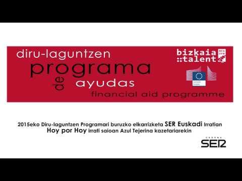 Entrevista en la Cadena SER Euskadi sobre el Programa de ayudas 2015