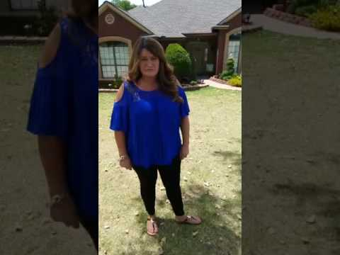 This is a live testimonial from customer out of Duncan , OK. This is her second re-roof by us in under one year.