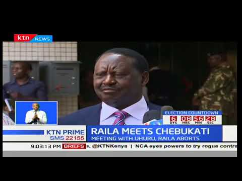 Raila Odinga says he is ready to take part in the repeat polls if his demands are met
