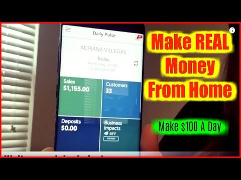 "Easiest Way To Make Money Online – ""How To Make Money From Home""  Make $100 A Day"