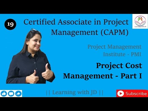 Project Cost Management - Part 1 | CAPM Certification | Planning ...