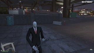 GTA 5 Mod - Slender Man bí ẩn xuất hiện trong GTA 5
