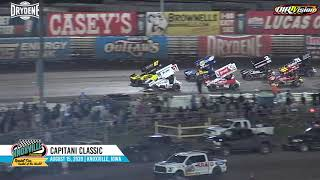 Knoxville Raceway 410 Highlights - Capitani Classic - August 15, 2020