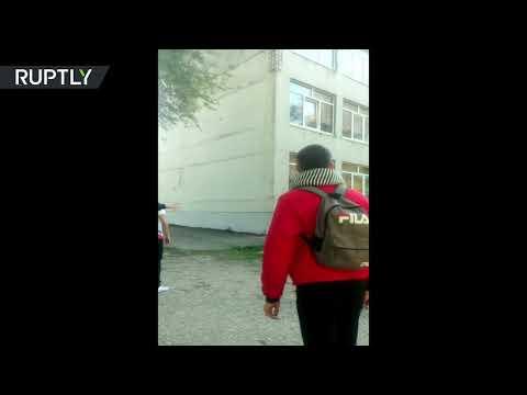 Crimea carnage: Shooting heard as college massacre unfolds