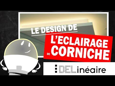 L'Éclairage de Corniche avec DEL Linéaire: Principes de Design