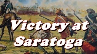American Revolutionary War - Battle of Saratoga