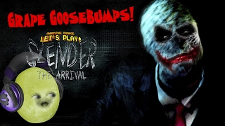 Gaming Grape Plays - SLENDER MAN ARRIVAL: Grape Goosebumps!