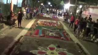 preview picture of video 'noche de viernes santo en acajutla'