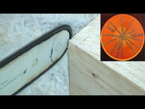Extremely Accurate Chainsaw Demonstration - An Aid to Building Timber Houses [8:30]