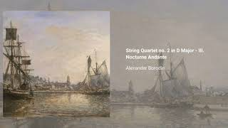 String Quartet no. 2 in D major