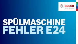 Siemens Geschirrspuler E24 Pumpt Nicht Ab Free Video Search Site