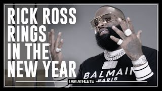 Rick Ross Rings In The New Year | I AM ATHLETE with Brandon Marshall, Chad Johnson & More