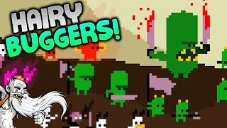 "Hairy Little Buggers Gameplay - ""LITTLE POOPIN"