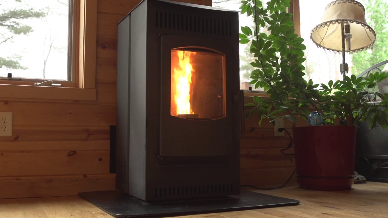 See the Serenity Programmable Pellet Stove in action