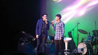 Michael Pangilinan sings with brother