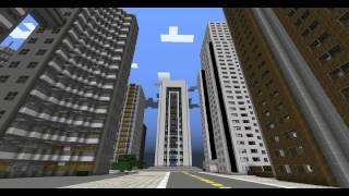Modern City Minecraft Server Hellominers Самые лучшие видео - Minecraft moderne hauser plane