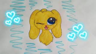 Рисунок на конкурс канала Bright Star и на конкурс •Naomi LPS•