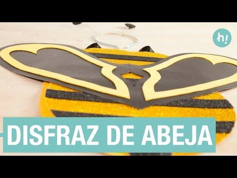 Cómo hacer un disfraz de abeja DIY - Manualidades con goma eva