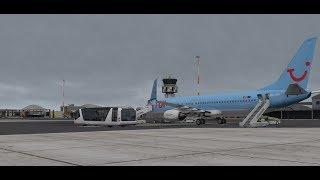 [X-Plane 11] TFL448 Sal(GVAC) Eindhoven(EHAM) Zibo Boeing 737-800