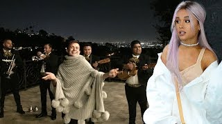 Ariana Grande's Friends Throw Her A SURPRISE PARTY With A Full On MARIACHI Band!