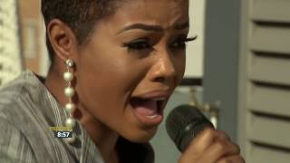 Zandie Khumalo performs \