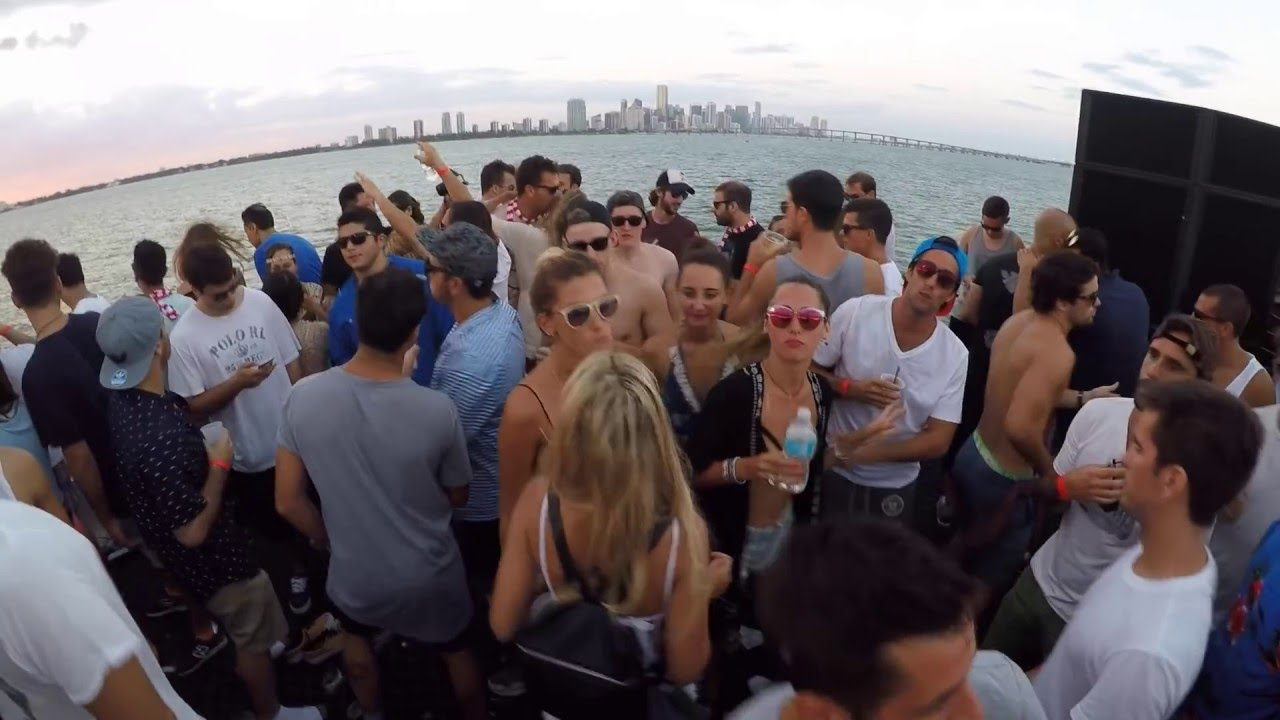 Hernan Cattaneo b2b Nick Warren - Live @ @ Never get out of the boat, Biscayne Lady, Miami 2016