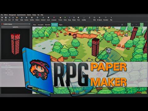 RPG PAPER MAKER Game Engine Hands-On