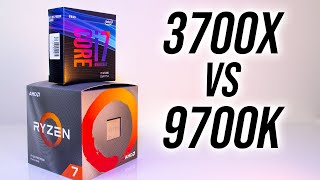 AMD Ryzen 7 3700X vs Intel i7-9700K - Which 8 Core CPU In 2019?