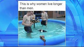 Why Women Live Longer Than Men... Explained in One Meme