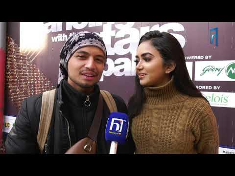 NERVOUS AND EXCITED | SUBHAM BHUJEL & PRIYANA ACHARYA || DANCING WITH THE STARS NEPAL ||