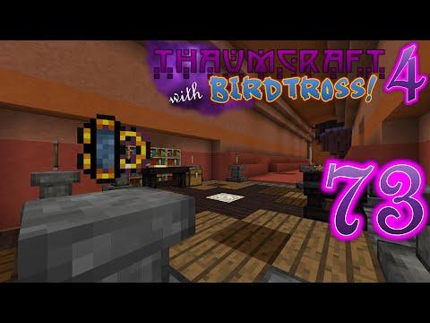 Thaumcraft 4.2.3.5 with Birdtross - E73 - Sanity Checker (Modded Minecraft)