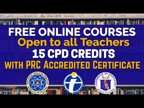 Free 15 CPD Credits for Teachers With PRC Accredited Certificate I SEAMEO INNOTECH