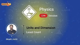 Watch and Learn Units and Dimension | Least Count on the Extramarks App