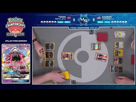 2018 Pokémon North America International Championships: TCG Masters Top 8, Match A