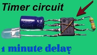 How to make a timer circuit/delay timer circuit use 555 timer IC
