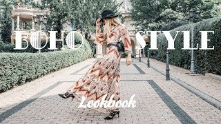 Bohemian Style Inspired Lookbook | Herbst Lookbook 2018 | Morning Elegance Fashion