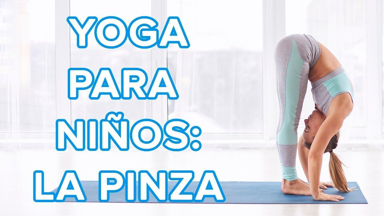 Yoga para niños | La postura de la pinza o Uttanasana ????????