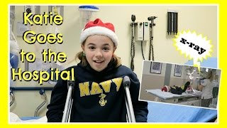 A Gymnastics Injury Sends Katie to the Hospital And Ryan Fixes His Injured Train | Flippin' Katie