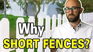 Why Can't You Have Fences Over a Certain Height in the Front or Backyard?